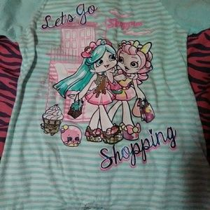 A Shopkins shirt